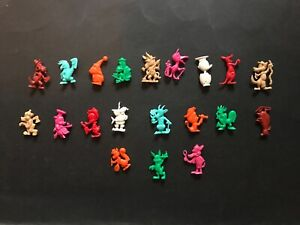 CEREAL TOY R&L SOCIETY ZOO 1974, FULL SET OF 20