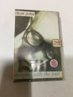ELTON JOHN SLEEPING WITH THE PAST CLAMSHELL 1995 RARE orig CASSETTE TAPE INDIA