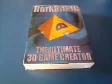 Darkbasic the ultimate 3D Game generator PC CDRom English New and sealed