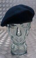 Genuine British Military Issue Dark Blue All Regiments & Corps 100% Wool Beret