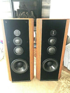 Infinity Kappa 8 Speakers Rebuilt Polydome Mids/Woofers Refoamed/New Dustcaps