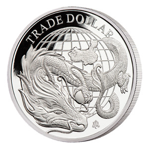The 2021 Modern Chinese Trade Dollar 1oz Silver Proof Coin100 Coins Only