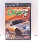 Tokyo Xtreme Racer Drift 2 (Sony Playstation 2 PS2) Complete With Manual Tested