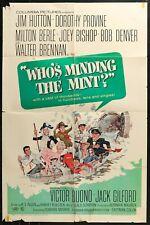 Who's Minding the Mint? Milton Berle ORIGINAL 1967 1-SHEET MOVIE POSTER 27 x 41