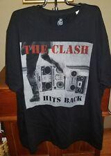 The Clash Hits Back Body Rags Men's Plus Size T-Shirt New size 4XL