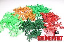 LEGO 75x 2417 **NEU**  Blätter Laub Pflanzen Grünzeug Baum 5 verschiedene Farben