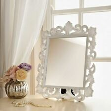 VINTAGE ORNATE WALL MIRROR FRENCH DRESSING TABLE OR WALL MIRROR DECOR 50x39cm