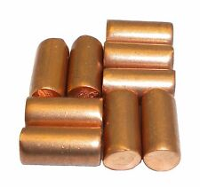 Copper Metal Element 1/4 x 1/2 Cylinders 99.99% 32 Grams