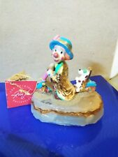 """Vintage rare Ron Lee Clown """"Puppy Love Scootin"""" L275 Limited Edition"""