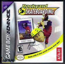 GBA Backyard Skateboarding (2005) Brand New & Nintendo Factory Sealed