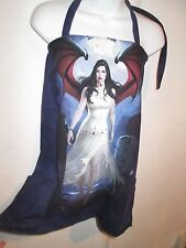 Sexy Gothic Goth Punk Vampire mini Tunic Top Tee S/M Fairy Upcycled OOAK dress
