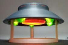 The Invaders UFO/Flying Saucer - Small - in Flight With Stand & light