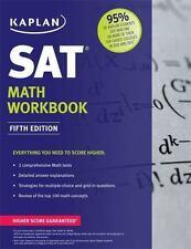 Kaplan SAT Math Workbook (Kaplan Test Prep), Kaplan, Good Condition, Book