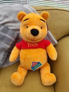 Fisher Price Winnie th Pooh talking teddy 45cm x 45cm large new with Tags