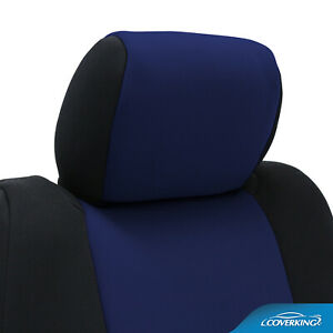 Coverking Neosupreme Custom Fit Seat Covers for Chevy Corvette C4 with Logo