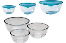 More details for pyrex classic glass mixing bowl ovenproof  microwave & dishwasher safe