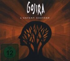 "GOJIRA ""L'ENFANT SAUVAGE""  CD+DVD NEW+"