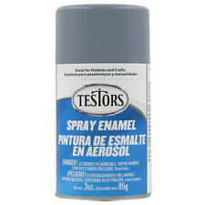 Testors FLAT GREY PRIMER  Enamel Spray Paint Can  3 oz.  1237