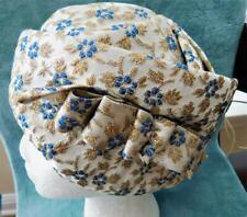 Caspar Davis of Hollywood Movie Modes Women's Vintage Hat 1940's Gold Thread