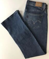 """Levis 529 Curvy Boot Cut Womens Jeans 10 Medium W30 x L32"""" Stretch  5 Pocket"""