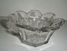 Central Glass Works/Jefferson EAPG COLONIAL KRYS-TOL Krystol Mayo/Candy Bowl