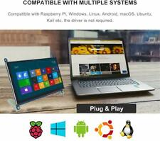 "7"" HD IPS Capacitive Touchscreen Display 1024*600 with USB for Raspberry Pi N9P0"