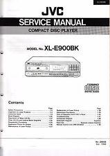 Servicio Manual de instrucciones para JVC xl-e900 BK