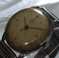 Elco vintage Working 1950s Mechanical Manual Hand Wind wristwatch Swiss Watch