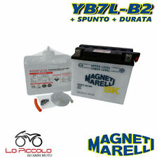 BATTERIA MAGNETI MARELLI YB7L-B2 YAMAHA YP Majesty DD 150 2001 2002 2003 2004