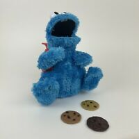 🍪 Cookie Monster, Count & Crunch, Complete With 3 Cookies 🍪 Sesame Street Toy