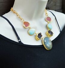 Turquoise Gold Necklaces Jewellery