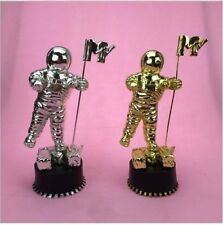 MTV Moonman music choice Award trophy replica silver USA SELLER rare AMA bieber