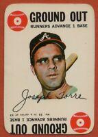 1968 Topps Game #31 Joe Torre EX-EXMINT+ Atlanta Braves Free Shipping