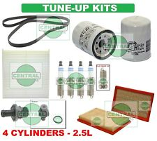 TUNE UP KITS for 02-06 ALTIMA SENTRA (2.5L): SPARK PLUGS, BELT & FILTERS