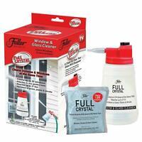 Fuller Brush Full Crystal Window Cleaner Bottle 4 oz Powder As Seen On TV NEW 🔥
