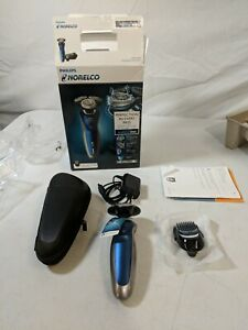 PreOwned - Philips Norelco Series 8000 Wet and Dry Electric Shaver - Navy Blue