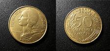 France - Vème République - 50 centimes Marianne Lagriffoul 1962 3P TTB++ F.197/2