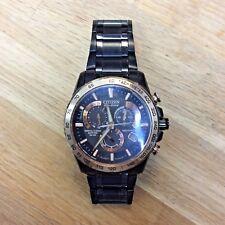 Citizen Eco-drive Perpetual Chrono Chronograph Watch Model E650-s102278