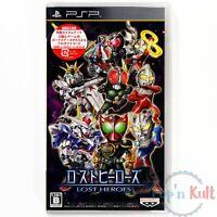 Jeu Lost Heroes [JAP] sur PlayStation Portable / PSP NEUF sous Blister