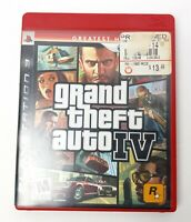Grand Theft Auto IV - Greatest Hits (Sony PlayStation 3 PS3, 2008) - Complete.