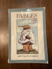 Fables book Lobel Children's book softcover 1980