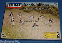EMHAR 7216 NAPOLEONIC FRENCH INFANTRY - PENINSULAR WAR. 1:72 Scale Plastic