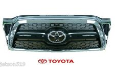 Genuine Toyota Tacoma Chrome Grille Genuine OE NEW  53100 04440