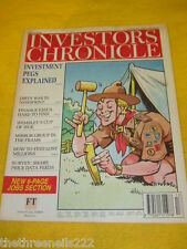 INVESTORS CHRONICLE - INVESTMENT PEGS - MARCH 31 1995