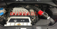 VW GOLF MK5 R32 PIPERCROSS VIPER INDUCTION AIR FILTER INTAKE KIT + COLD AIR FEED