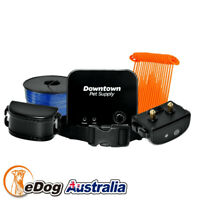 2 Dog Rechargable Waterproof Electronic Barrier Hidden Pet Electric Fence System