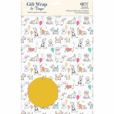 Gift Wrap & Tags - Dogs