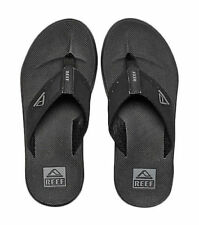 Reef Phantom Mens Flip Flops 002046 Black Sandals 11