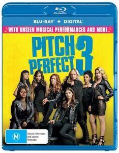 Pitch Perfect 3 Blu-ray Region B NEW SEALED