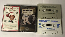 Bing Crosby Lot Of 2 Cassettes - The Bing Crosby Story & Merry Christmas